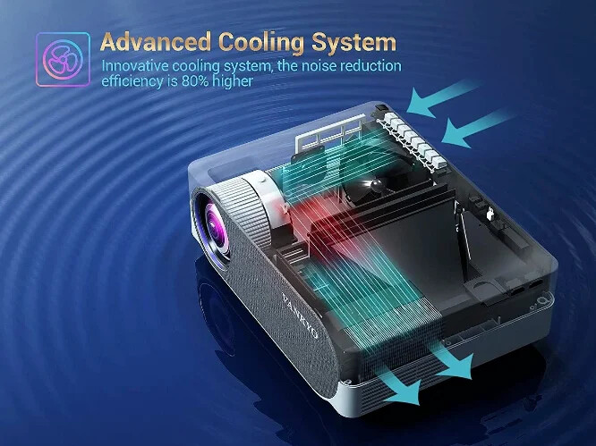 vankyo v630 offers advanced cooling and low fan noise
