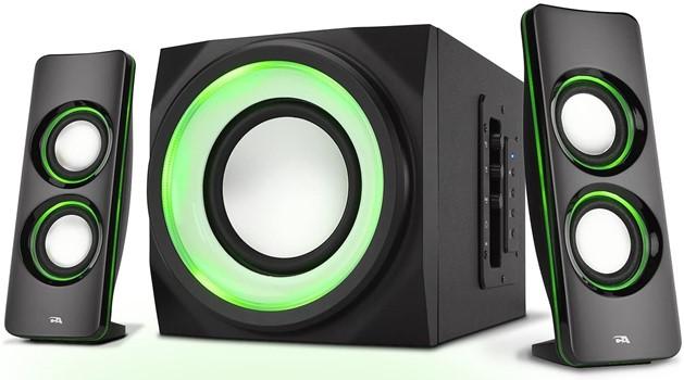 Best 2.1 speaker setup for Viewsonic PA503W