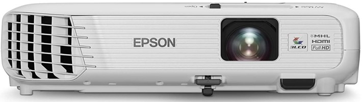 Epson Home Cinema 1040 offers wide range of resolution options