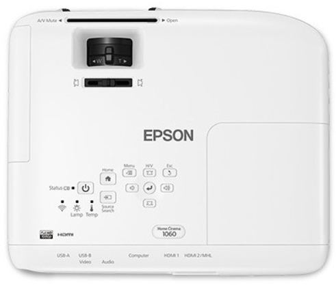 Epson Home Cinema 1060 - Under 1000 Home Theater Projector