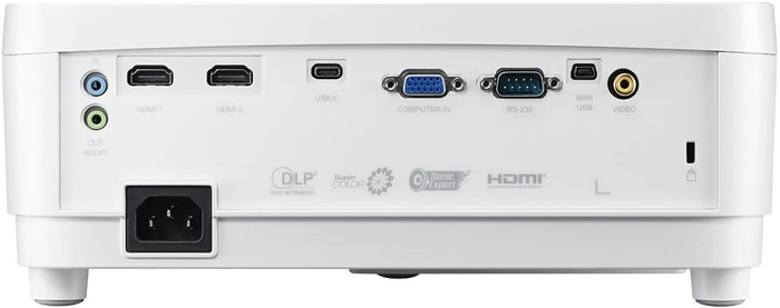 ViewSonic 1080p Short Throw Projector with 3000 Lumens 22,000-1 DLP Dual HDMI USB C and Low Input Lag