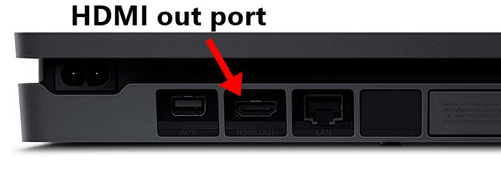 How to connect PS4 to Projector with HDMI cable