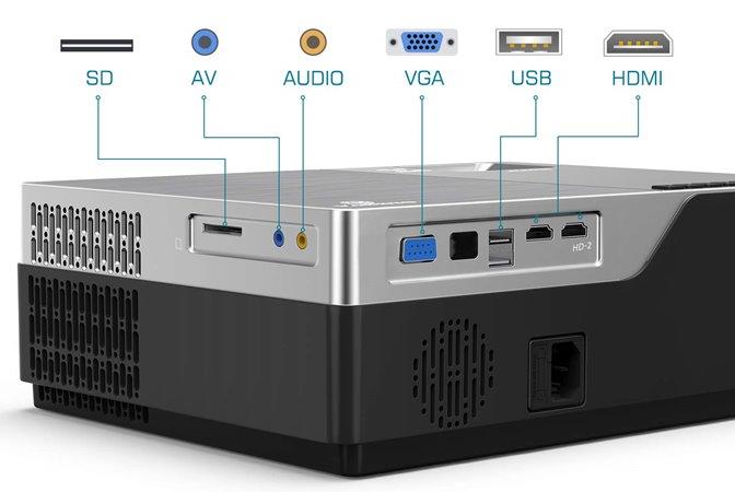 Vankyo Performance V600 - Connectivity Options