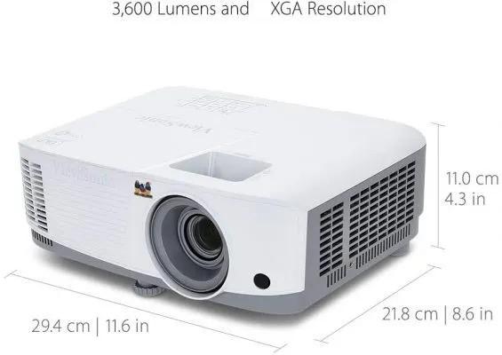 Viewsonic PA503X Size and Weight