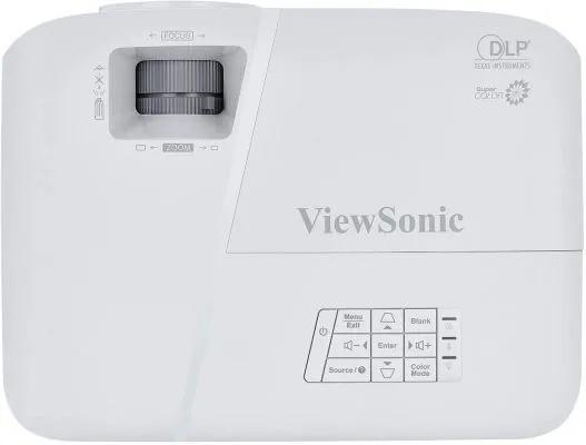 Viewsonic PA503X Top Controls