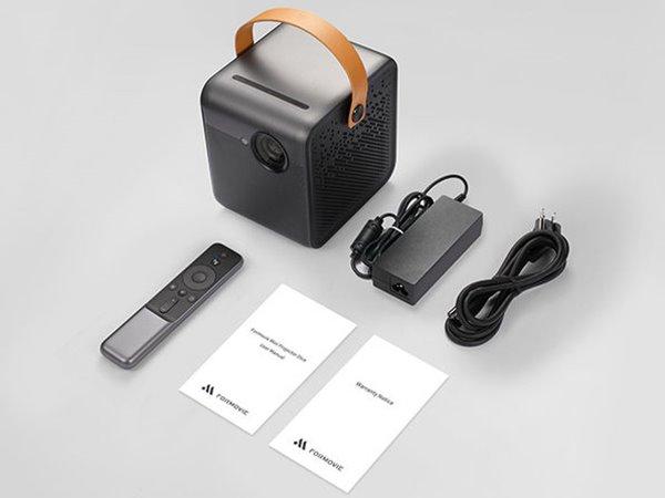 Wemax Dice Autofocus, 120-Inch Picture, 360° Dolby Audio Speaker