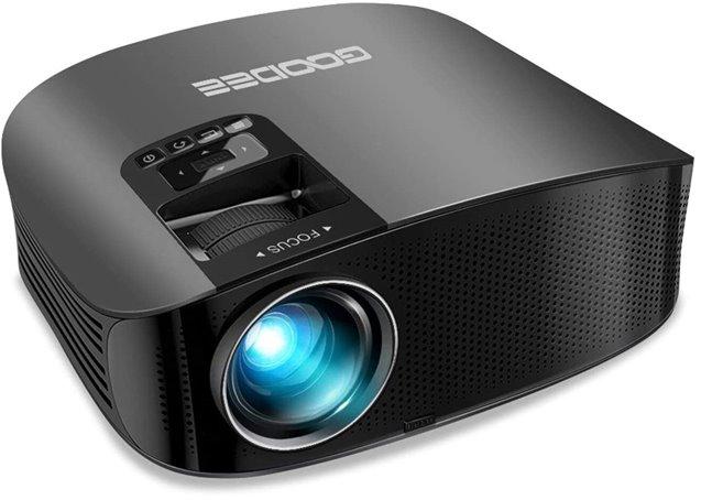 GooDee YG600 - Best HD projector under $200