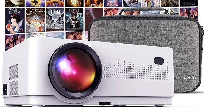 DBPower L21 - Best Dorm Room Projector
