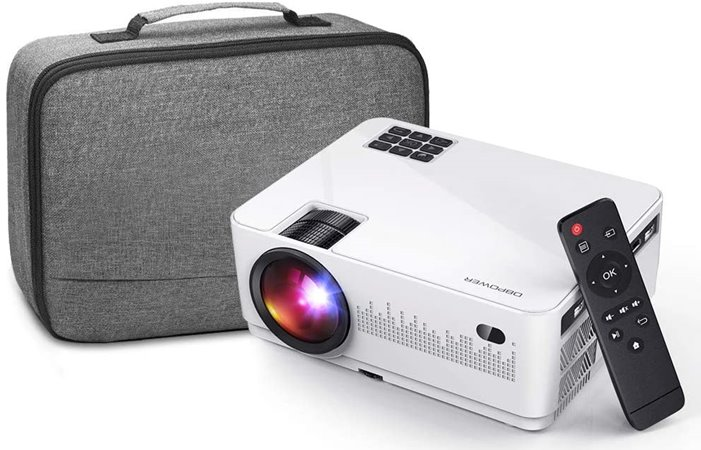 DBPower L21 - Best Projector for Dorm Room under $100