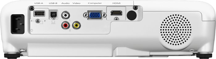 Epson Home Cinema 760HD Review - connectivity ports