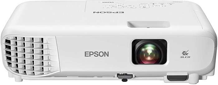 Epson VS260 - Best High Brightness Projector for Dorm Room