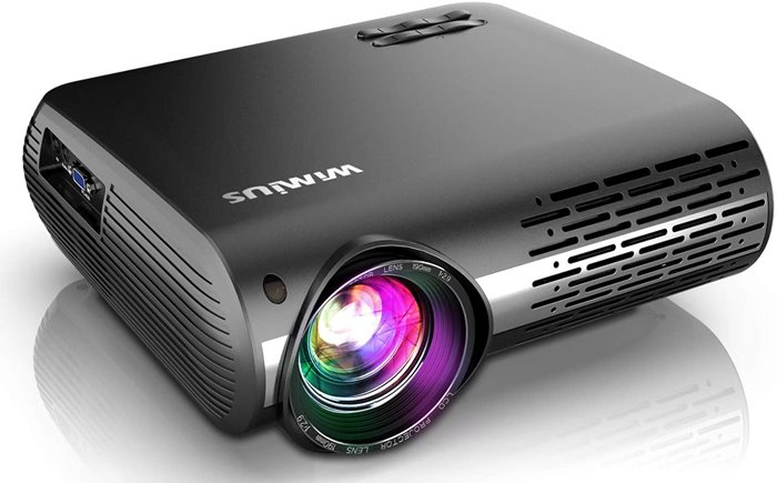 Wimius P20 Review - Bluetooth Projector