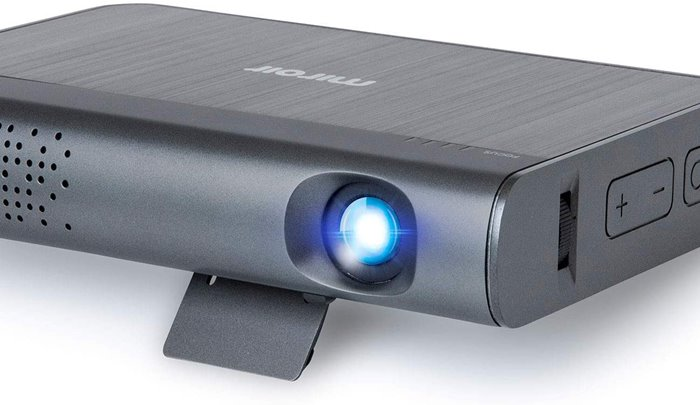 miroir m289 portable projector with stand