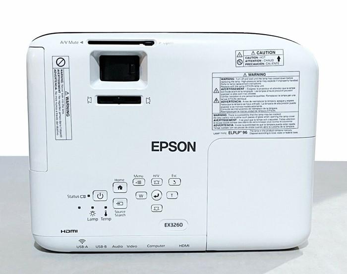 Epson EX3260 Projector Top