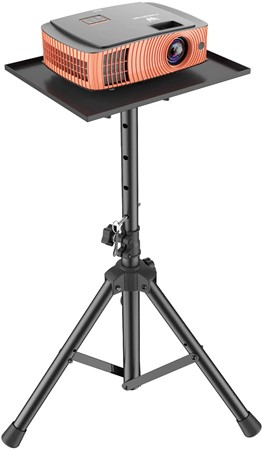 Short Throw Projector Table with Tripod Stand for Projector and Laptop
