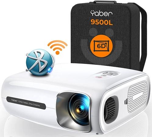 Yaber Pro V7 - best projector for digital projection
